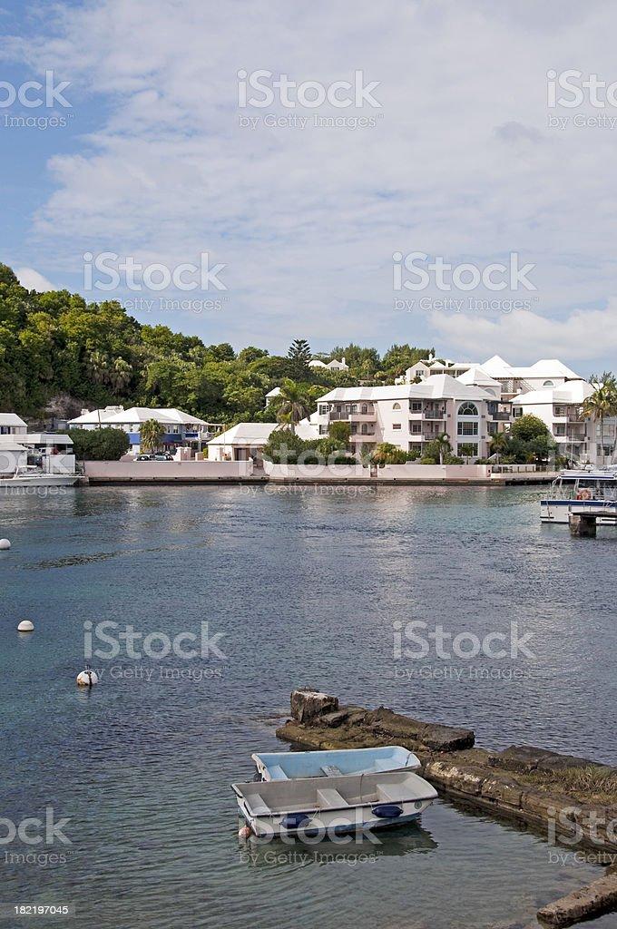 Flatts Village, Bermuda royalty-free stock photo