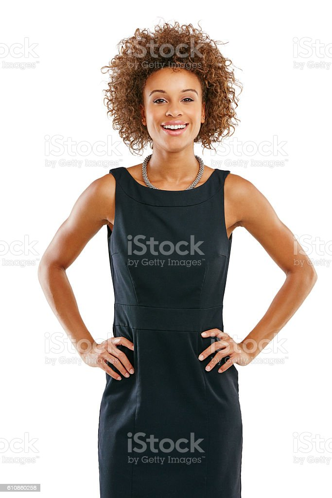 Flaunt your confidence stock photo