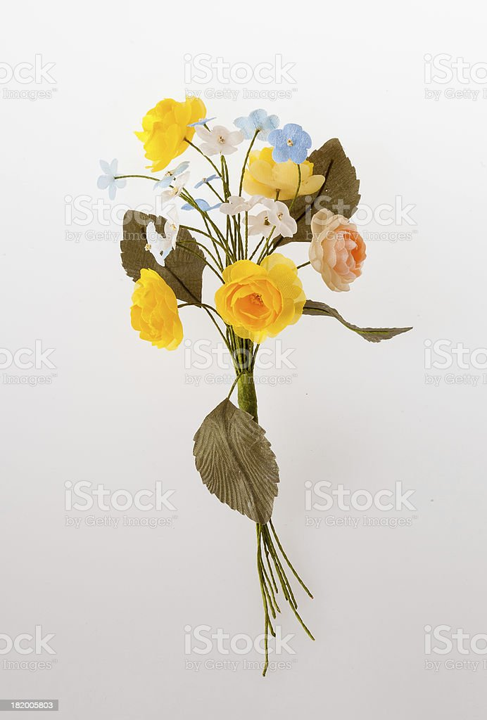 Flavor of artifical flowers royalty-free stock photo