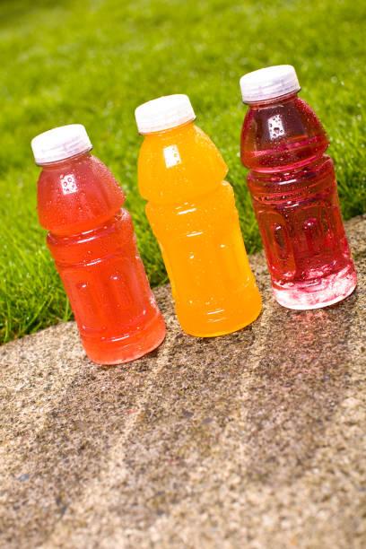 Aromatisierten sports Fitness-drinks – Foto