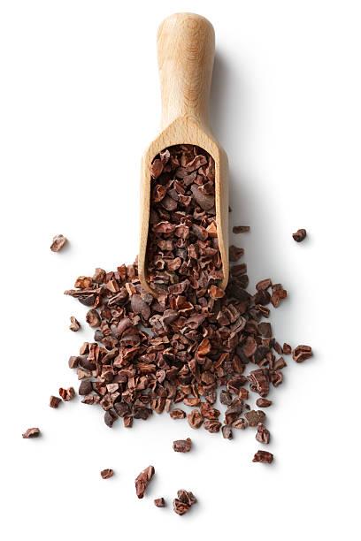 flavouring: cacao nibs - stålpenna bildbanksfoton och bilder