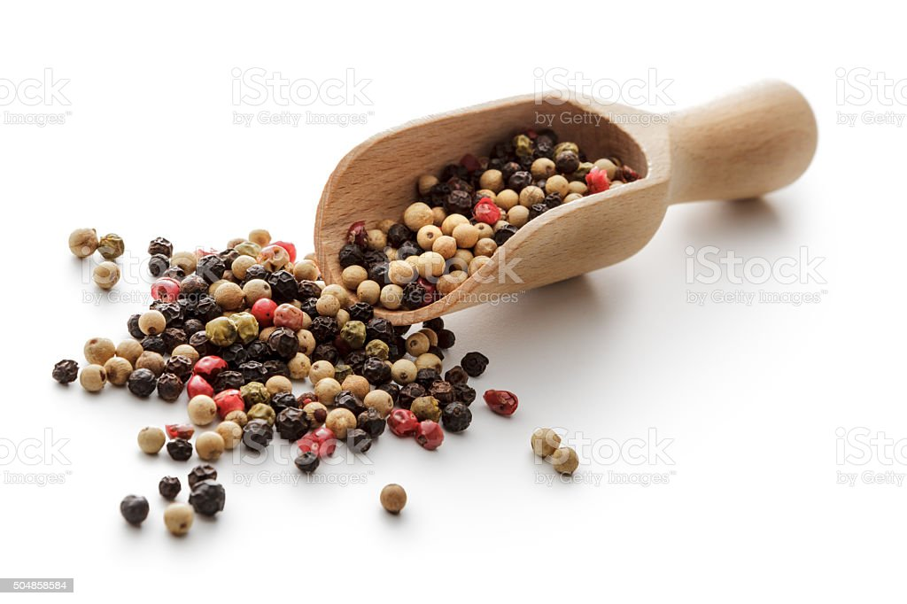 Flavouring: Four Seasons Pepper stock photo