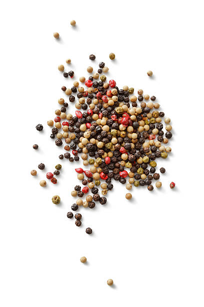 flavouring: four seasons pepper - pepper seasoning stock photos and pictures