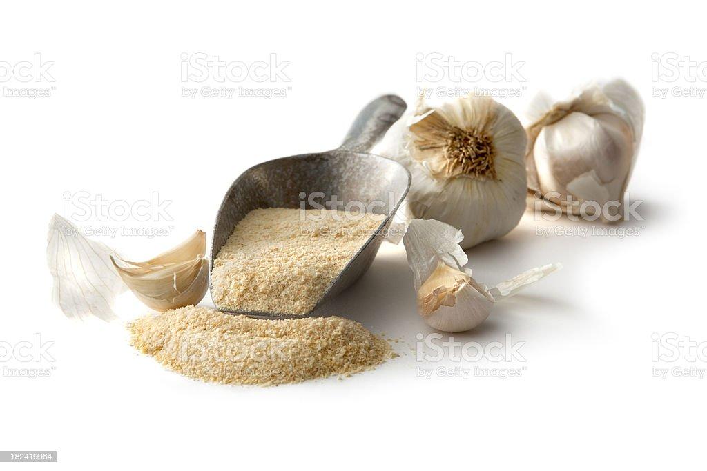 Flavouring: Garlic Powder royalty-free stock photo