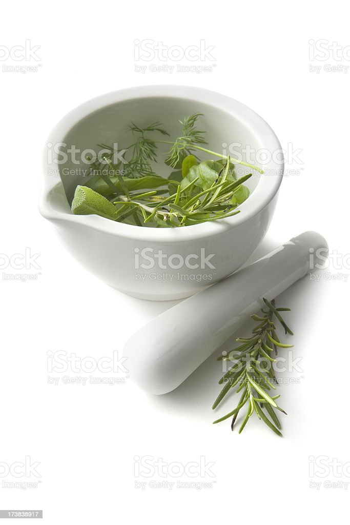 Flavouring: Herbs royalty-free stock photo