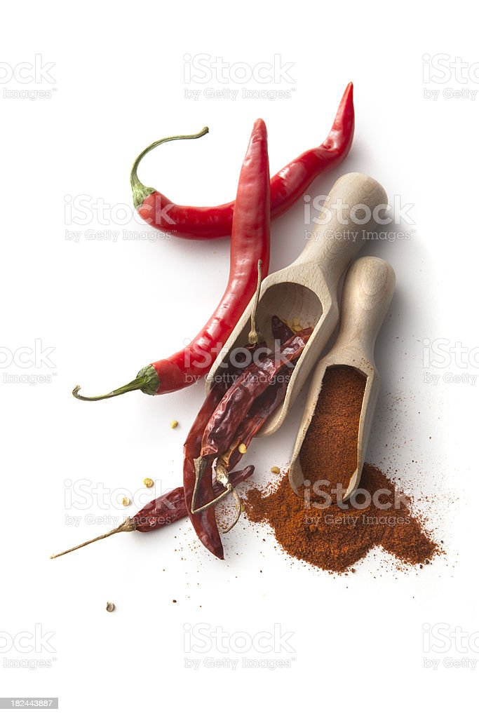 Flavouring: Hot Seasoning royalty-free stock photo