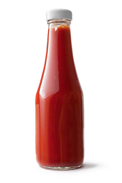 Flavouring: Ketchup stock photo