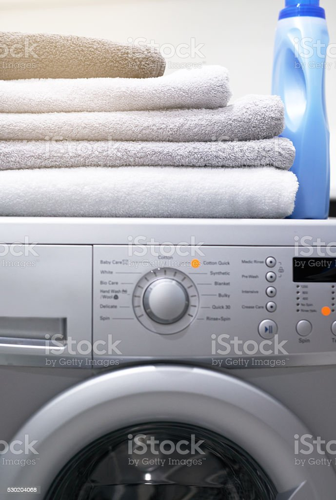 Flawless functionality for your laundry needs stock photo