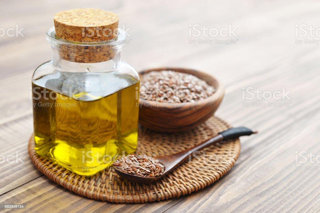 Leinsamen und Öl – Foto