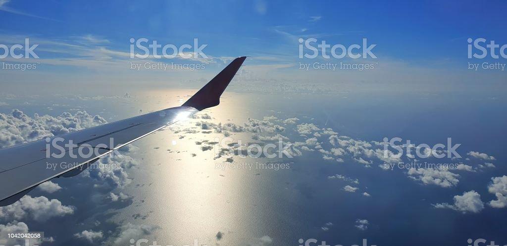 Desuello en el cielo - foto de stock