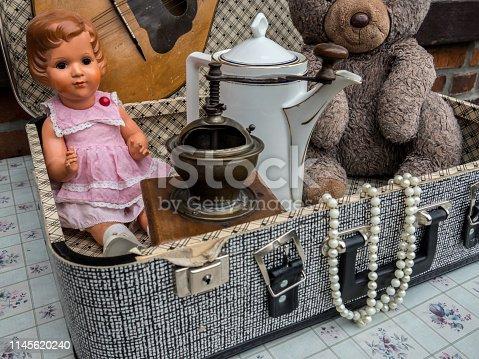 Flea antique market