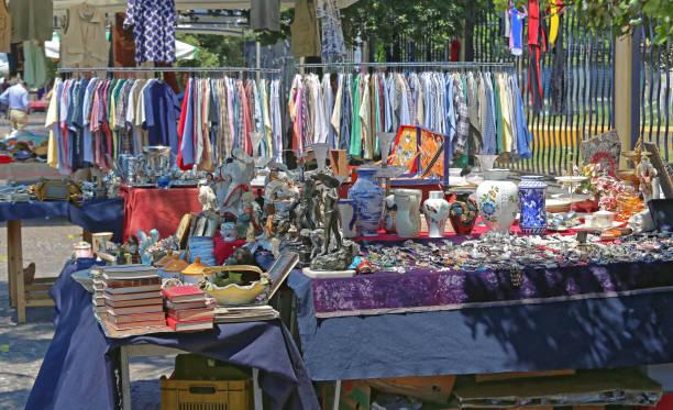 Flea Market Naples stock photo