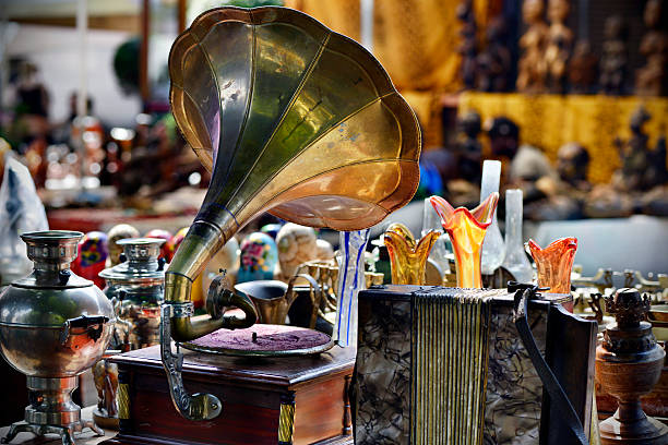 flea market - antique stock pictures, royalty-free photos & images