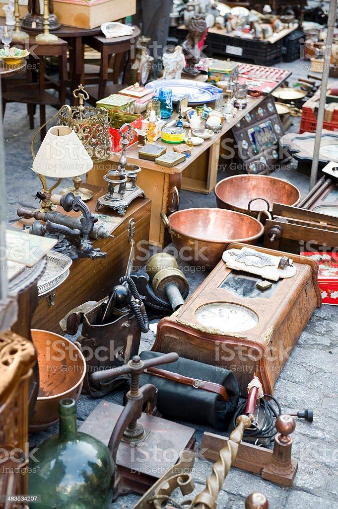 Flohmarkt market – Foto