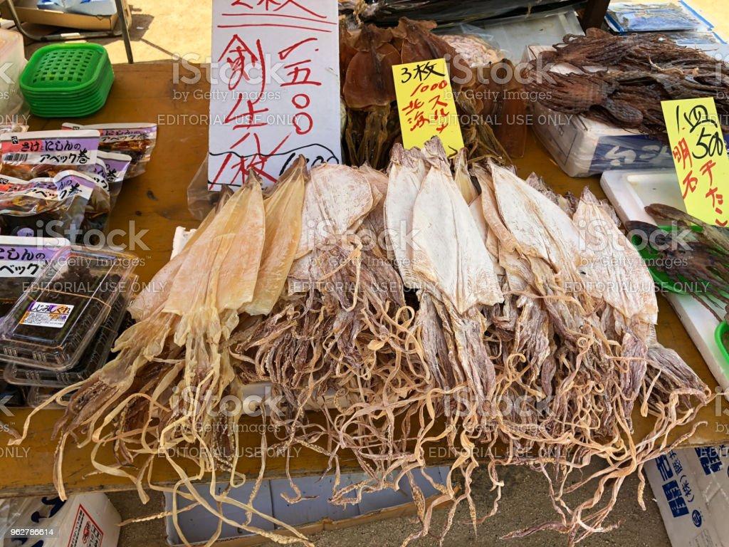 Mercado das pulgas - Foto de stock de Calamar royalty-free
