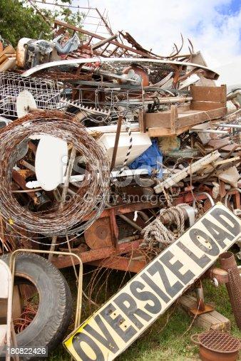 Flea Market:  Trailer full of 'good stuff' or 'junk'