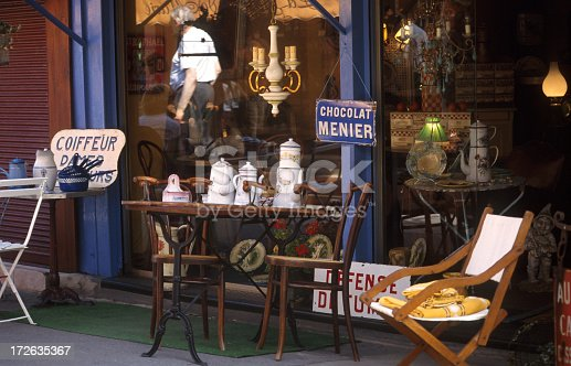 Puces De St-Ouen flea market. Saint-Ouen is home to the Paris flea market, the highest concentration of antique dealers and  second-hand furniture dealers in the world. The flea market (marché aux puces) is held every Saturday, Sunday, and Monday; because of this high frequency, compared to other flea markets, it has tended to consist only of professionals who rent their spot for a minimum term of three years.