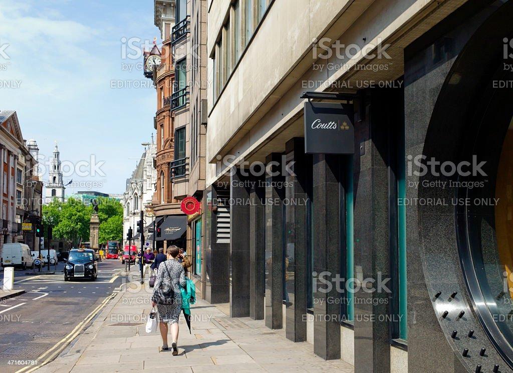 Fleet Street, London stock photo