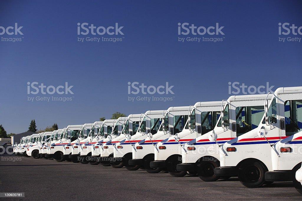 Fleet Vehicles royalty-free stock photo