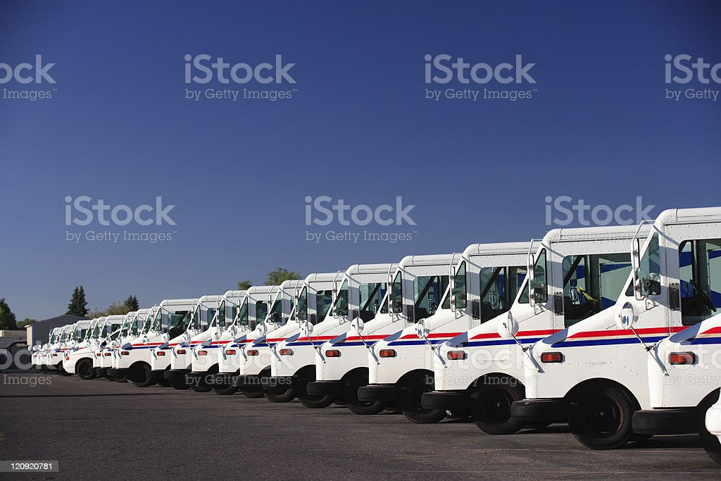 Fleet Vehicles stock photo