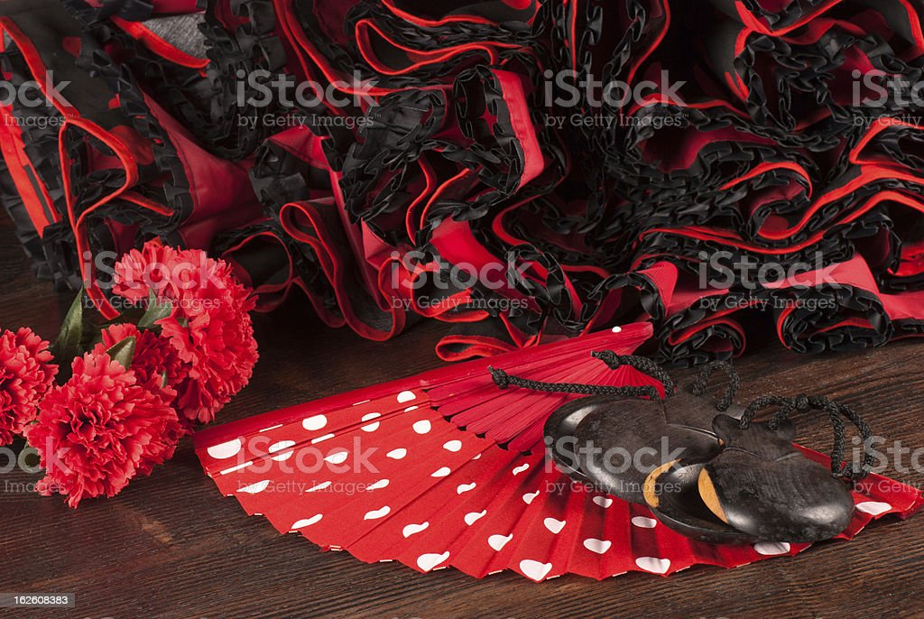 Flamenco stock photo