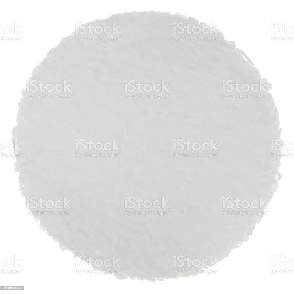Fleur de Sel (Sea Salt) Isolated stock photo