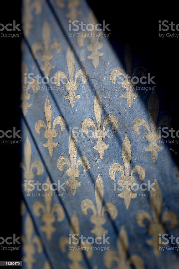 Fleur-de-lis Pattern stock photo