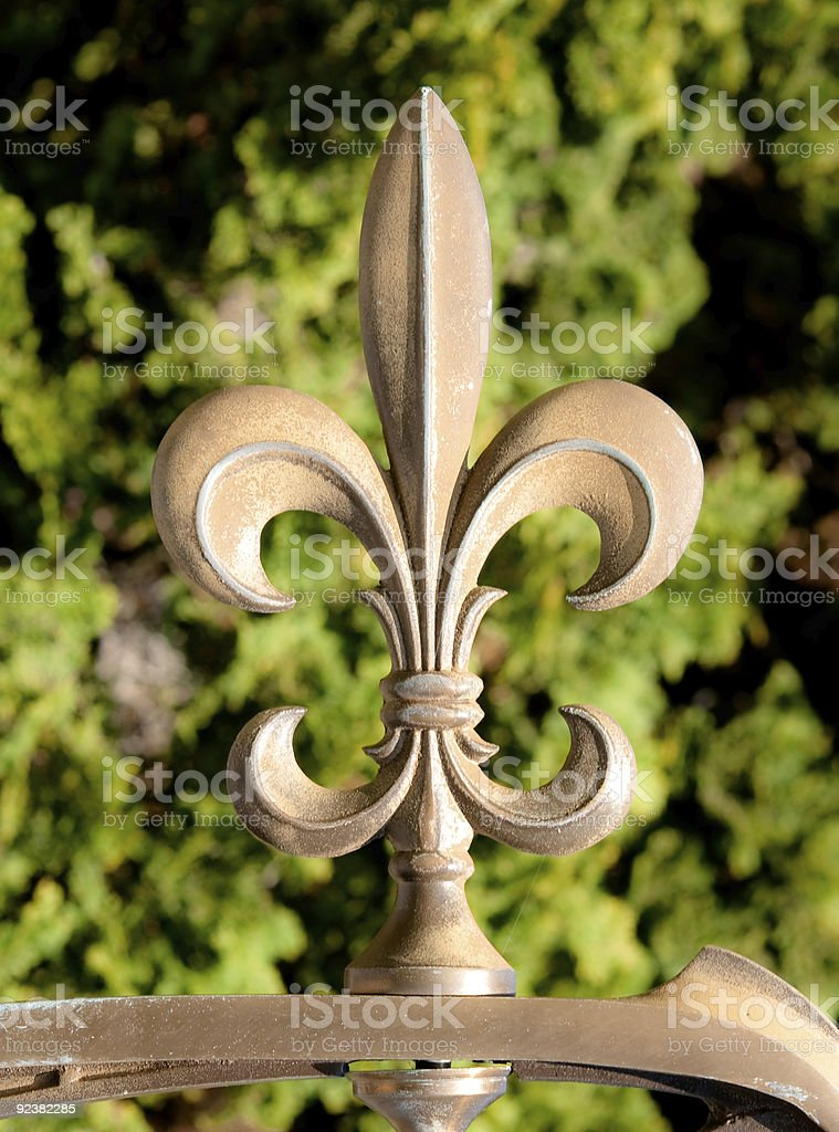 Fleur-de-lis Symbol royalty-free stock photo