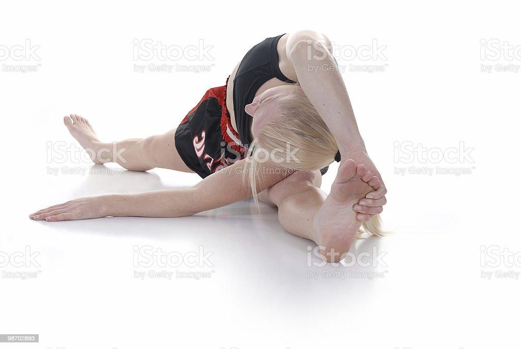 Flexibility royalty-free stock photo