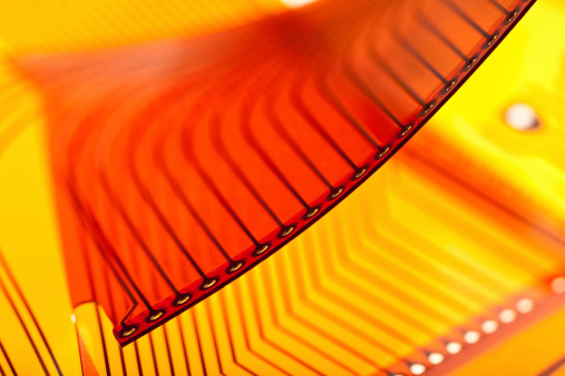 Flexible Circuit Board Stock Photo - Download Image Now