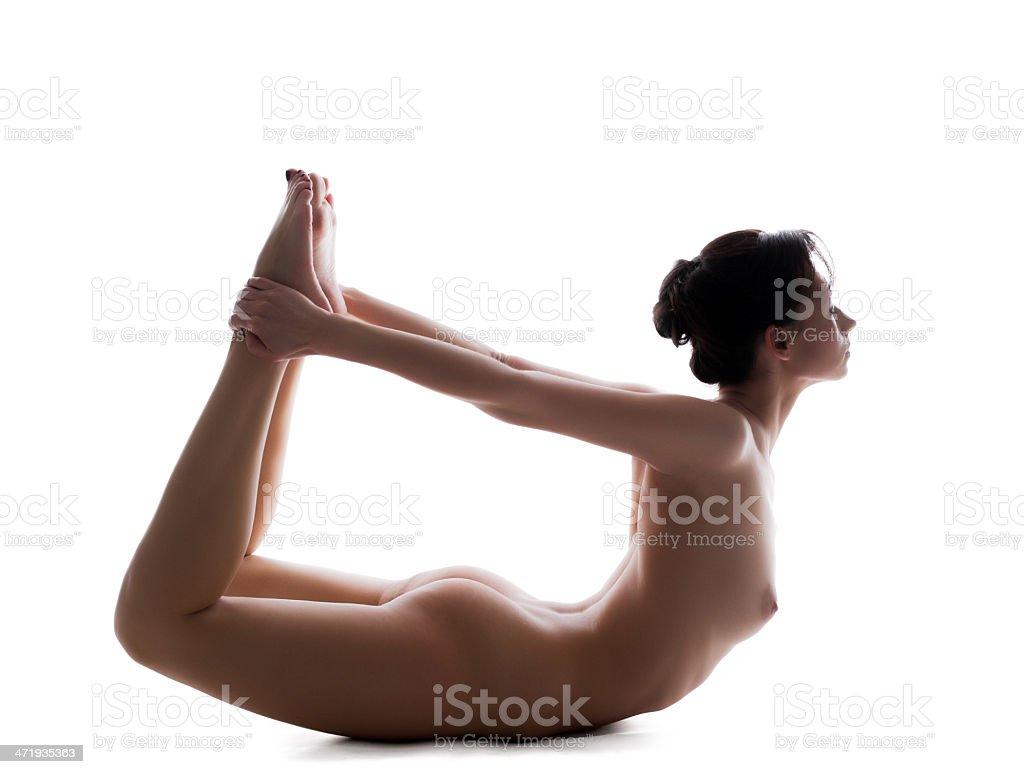 flexible nackte Frauen