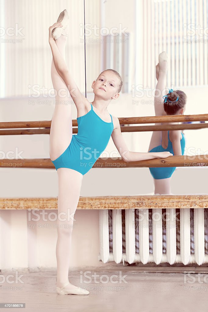 Flexible Pole Dancer Showing Off Stock Photo - Image of