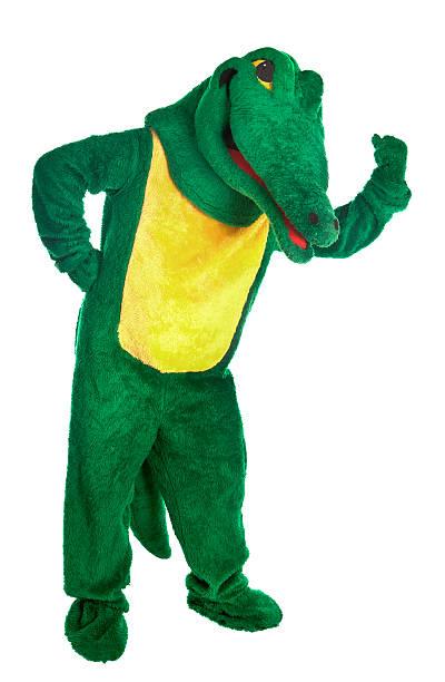 contracter alligator costume de - mascotte photos et images de collection