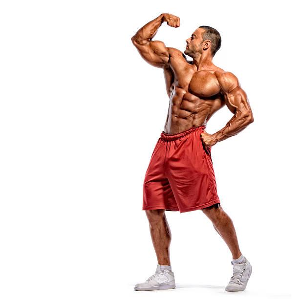 flexionar los músculos - culturismo fotografías e imágenes de stock