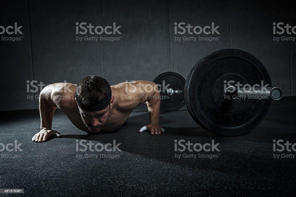 flexion stock photo