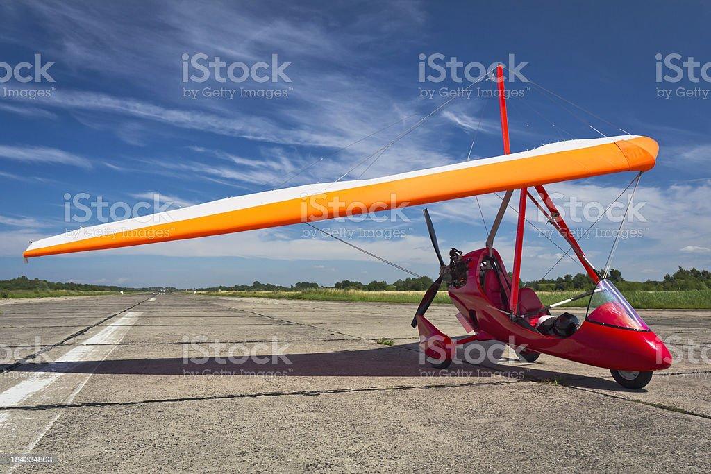 Flex-wing aircraft royalty-free stock photo
