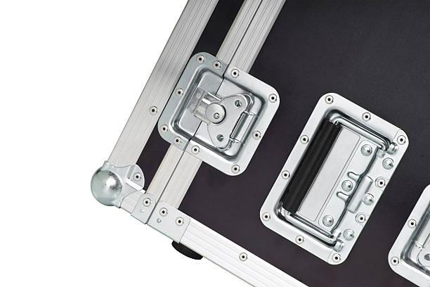 flifht fall - aluminiumkiste stock-fotos und bilder