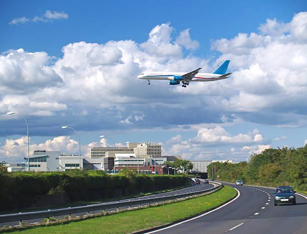Flug Ankunft – Foto