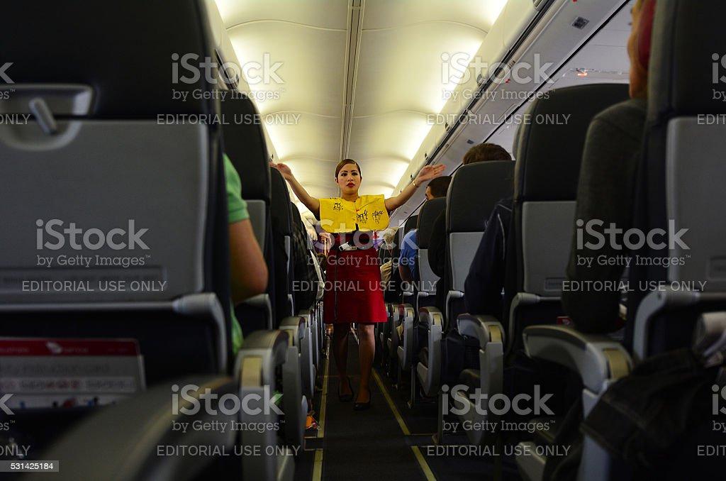 Flight attendant – Foto