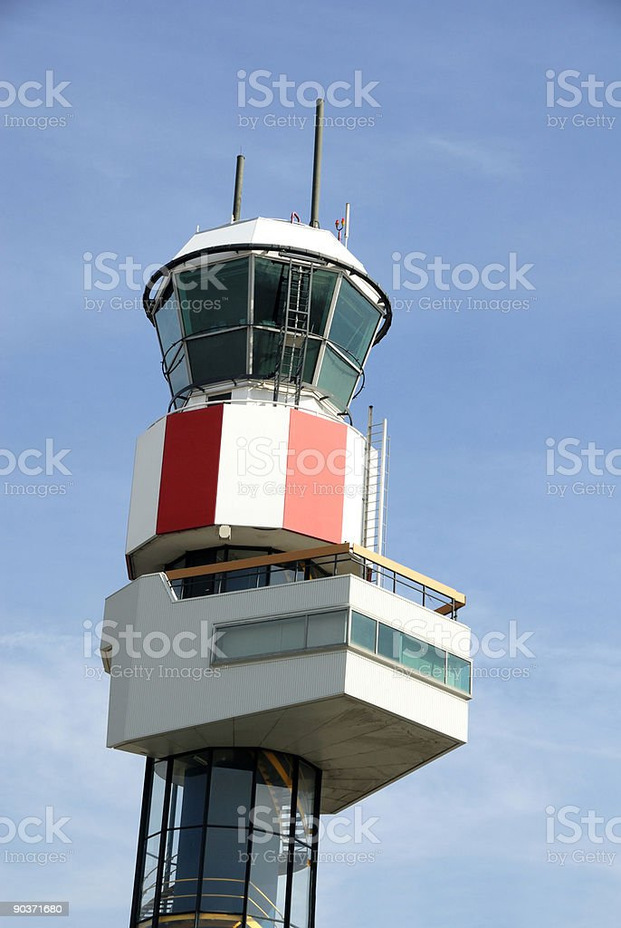 flight control tower royalty-free stock photo