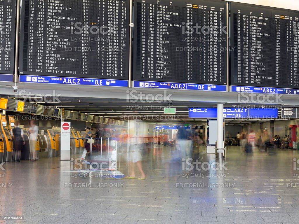Flight Arrivals Frankfurt