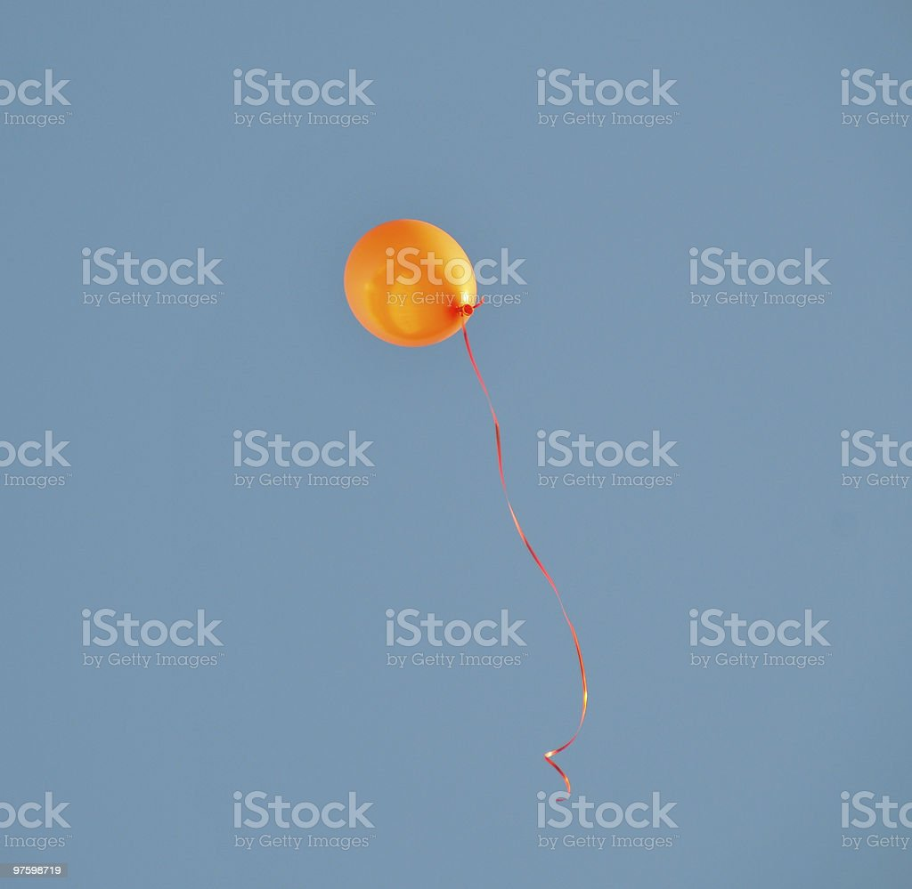 Flight in a height royalty-free stock photo