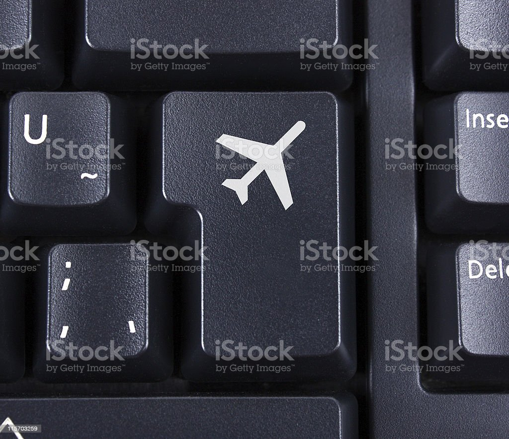 Flight Key royalty-free stock photo