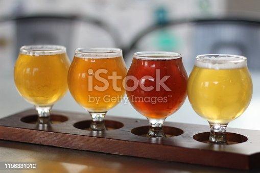 Classic Flight of beer