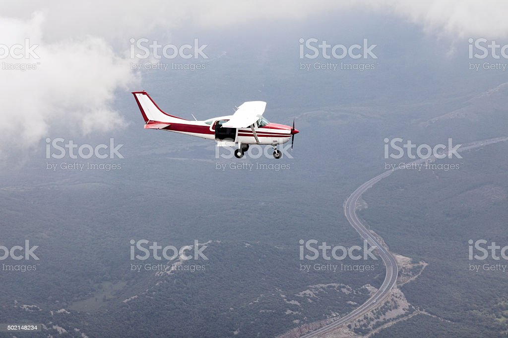 Flight stock photo