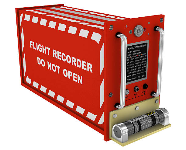 flight recorder 3d - recorder stock photos and pictures