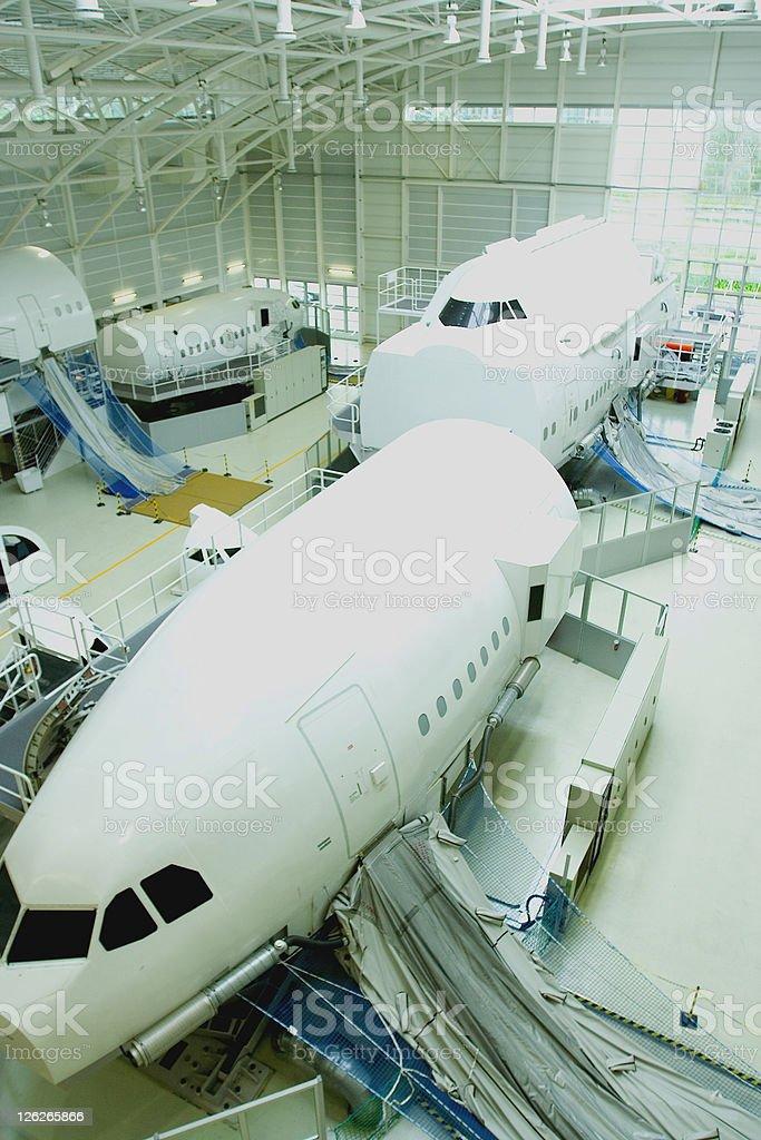 Flight Safety Training royalty-free stock photo