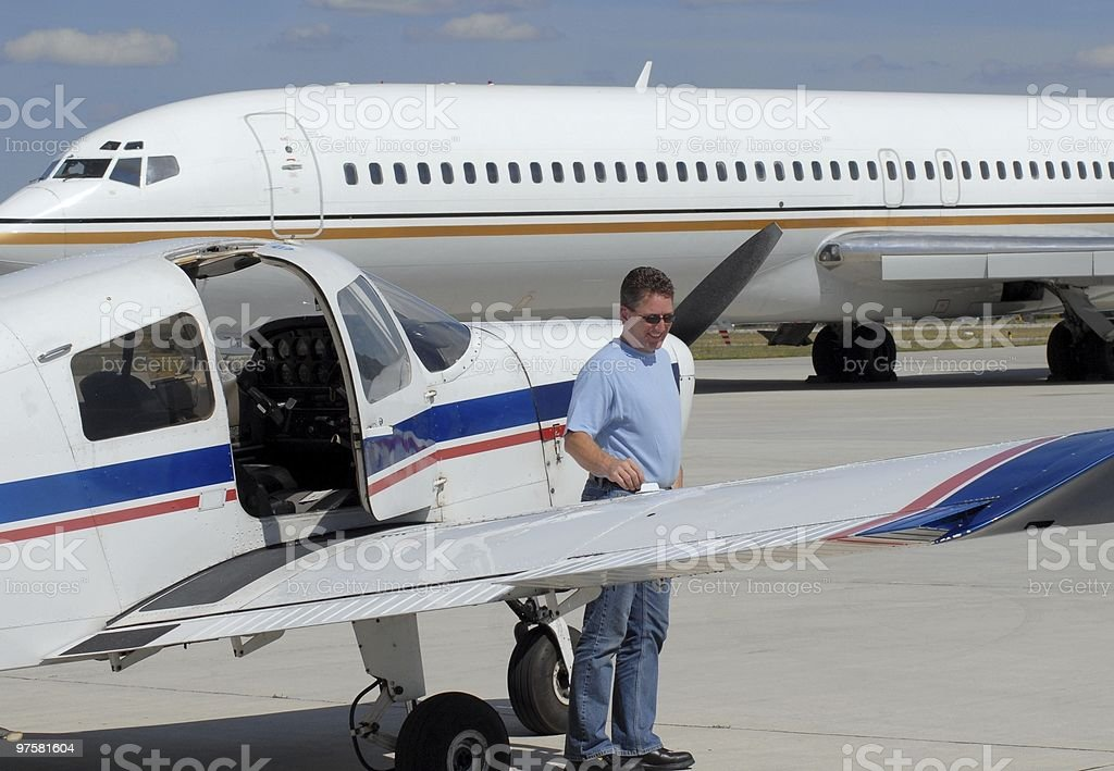 flight student royalty-free stock photo