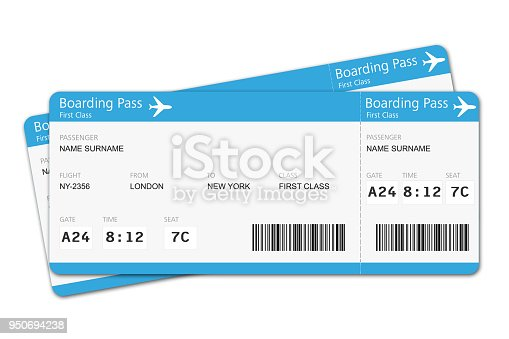 Flight tickets travel vacation boarding journey