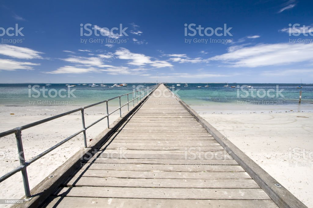 Flinders Jetty stock photo
